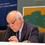 Jose Antonio Ferrera, en la presentación de Asturforesta 2017